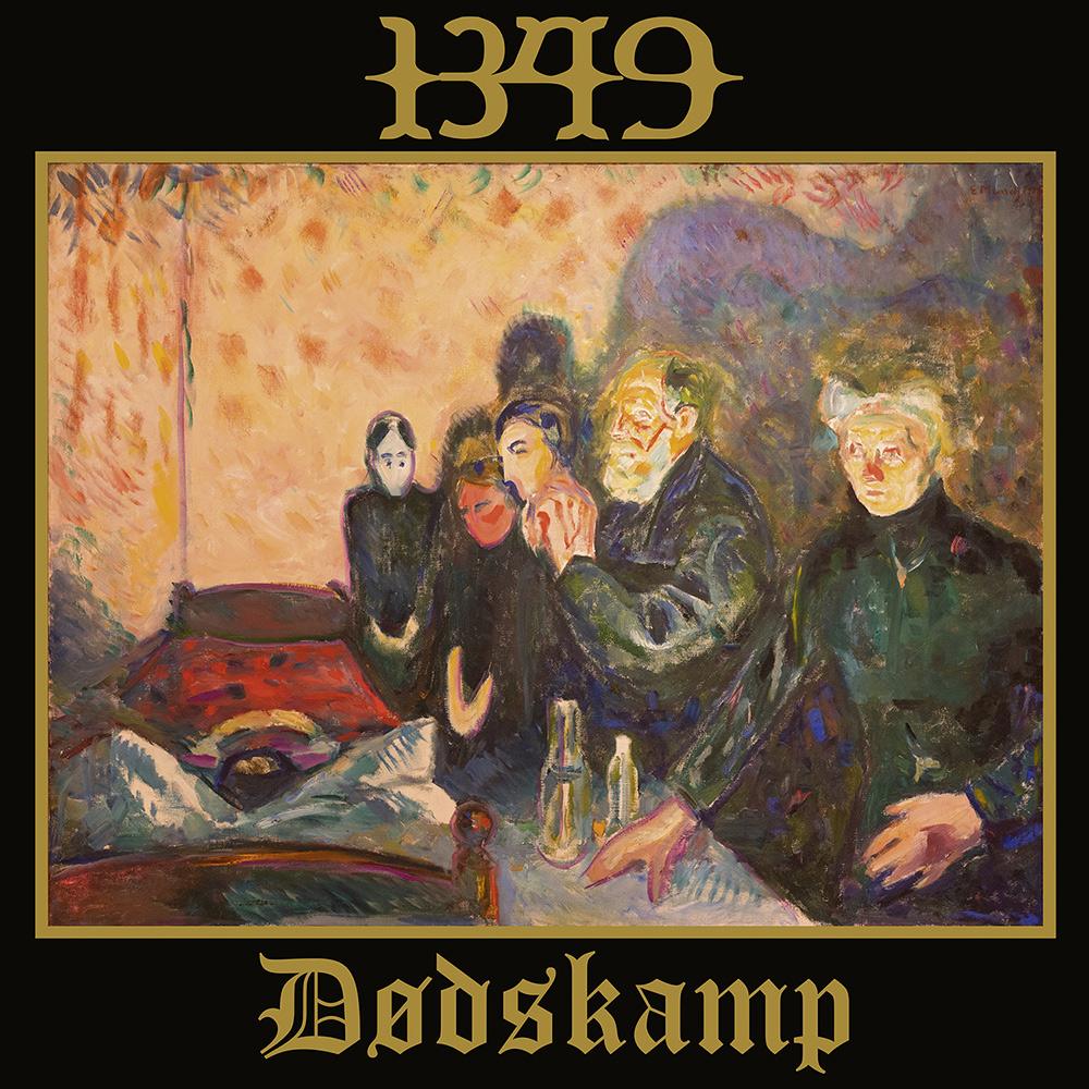 1349 Dødskamp Munch BLEZT