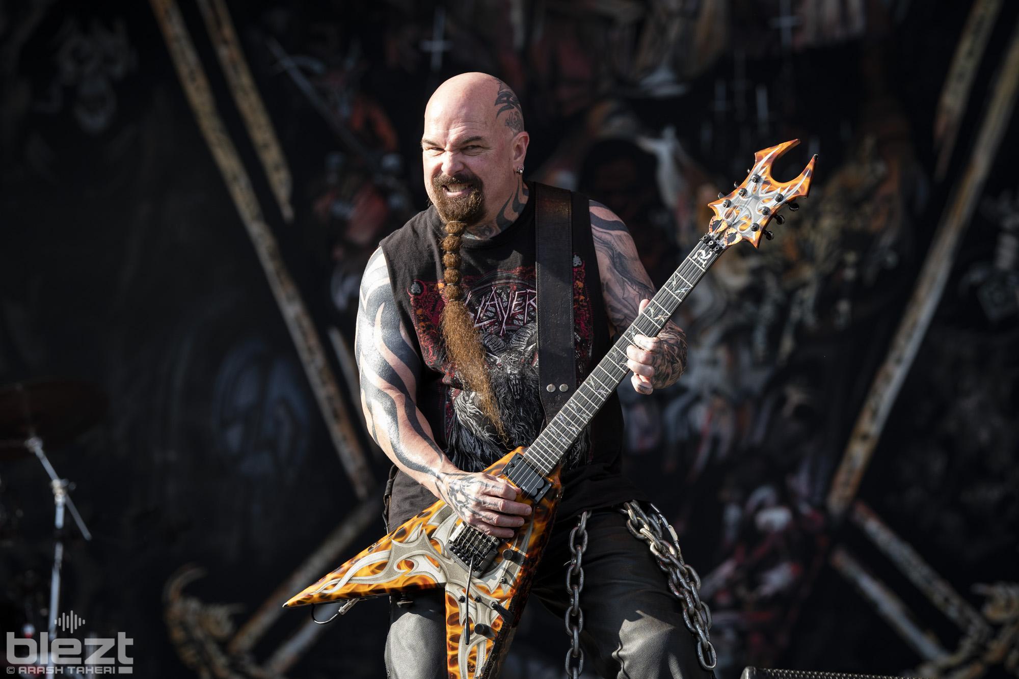 Slayer Tons Of Rock 2019 BLEZT